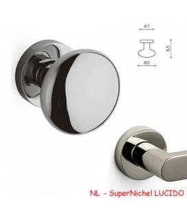 1/2 POMOLO EDISON 60 SuperNichel LUCIDO