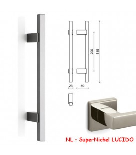 MANIGLIONE BIOS 204 SuperNichel LUCIDO