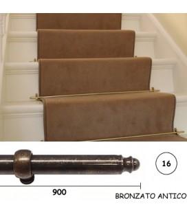 BACCHETTE GUIDA SCALE 16x900 BRONZO