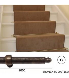 BACCHETTE GUIDA SCALE 11x1000 BRONZO
