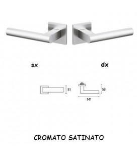 1/2 MANIGLIA EUCLIDE Q CROMATO OPACO