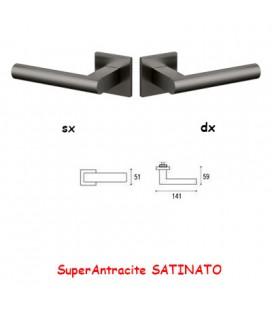 1/2 MANIGLIA EUCLIDE Q SuperAntracite SATINATO