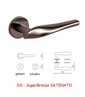 MANIGLIA MARILYN SuperBronzo SATINATO