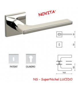 MANIGLIA LOTUS Q SuperNichel LUCIDO