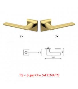 1/2 MANIGLIA LOTUS Q SuperOro SATINATO