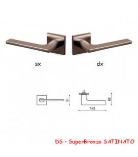 1/2 MANIGLIA LOTUS Q SuperBronzo SATINATO