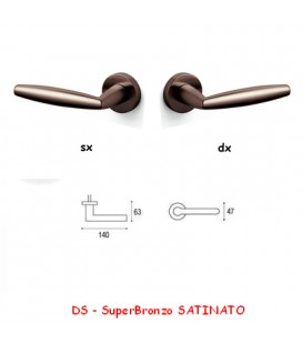 1/2 MANIGLIA AURELIA SuperBronzo SATINATO