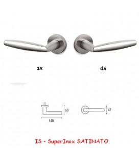 1/2 MANIGLIA AURELIA SuperInox SATINATO