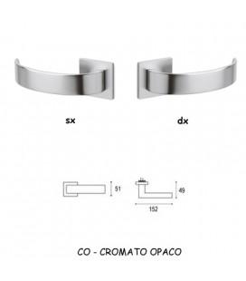 1/2 MANIGLIA ARC CROMATO OPACO