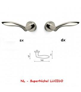 1/2 MANIGLIA ONDA SuperNichel LUCIDO