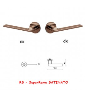 1/2 MANIGLIA OPEN SuperRame SATINATO