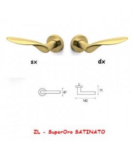 1/2 MANIGLIA WIND SuperOro SATINATO