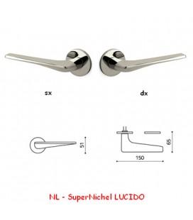 1/2 MANIGLIA TWIST SuperNichel LUCIDO