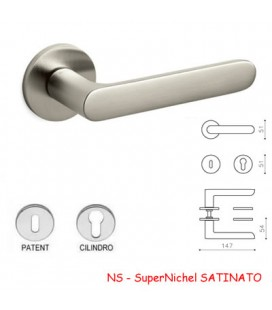 MANIGLIA ICONA SuperNichel SATINATO