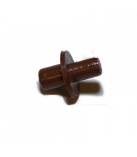 REGGIPIANO PLASTICA mm5/6 MARRONE