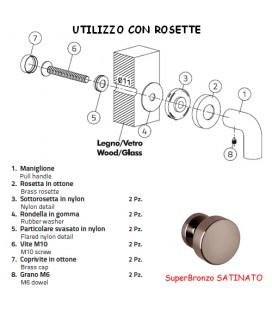 KIT SINGOLO FR02 SuperBronzo SATINATO