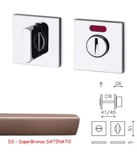 CHIAVISTELLO LINK QBF SuperBronzo SATINATO