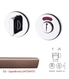 CHIAVISTELLO LINK TB L/O SuperBronzo SATINATO