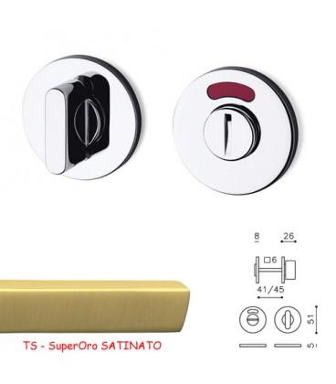 CHIAVISTELLO LINK TB L/O SuperOro SATINATO