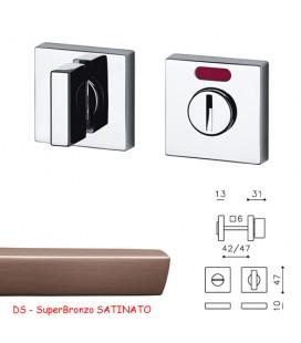 CHIAVISTELLO SPACE QF SuperBronzo SATINATO