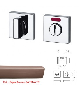 CHIAVISTELLO SPACE QF SuperBronzo SATINATO