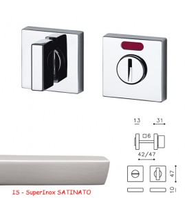 CHIAVISTELLO SPACE QF SuperInox SATINATO