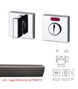 CHIAVISTELLO SPACE QF SuperAntracite SATINATO
