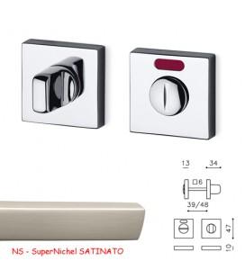 CHIAVISTELLO VERONA Q L/O SuperNichel SATINATO