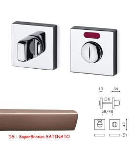 CHIAVISTELLO VERONA Q L/O SuperBronzo SATINATO