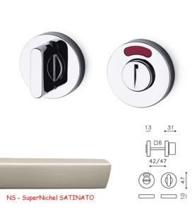 CHIAVISTELLO LINK T L/O SuperNichel SATINATO