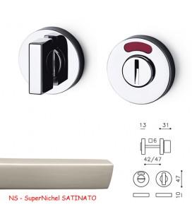 CHIAVISTELLO SPACE T L/O SuperNichel SATINATO