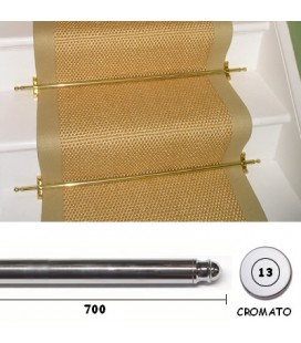 13x700 CHROME SCALE GUIDE RODS