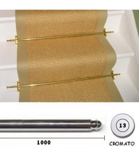 BACCHETTE GUIDA SCALE 13x1000 CROMO