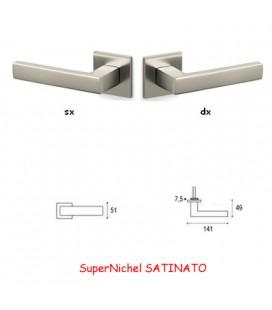 1/2 MANIGLIA PLANET QB SuperNichel SATINATO