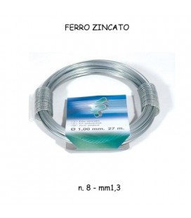 FILO FERRO ZINCATO n. 8