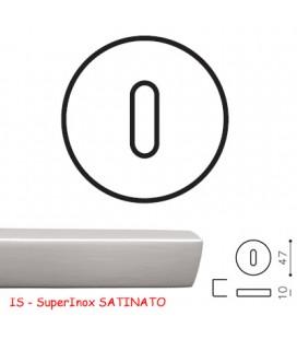 BOCCHETTA V PATENT SuperInox SATINATO