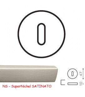 BOCCHETTA V PATENT SuperNichel SATINATO