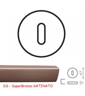 BOCCHETTA V Patent SuperBronzo SATINATO