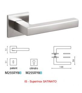 MANIGLIA ABC SuperInox SATINATO