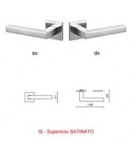 1/2 MANIGLIA ABC SuperInox SATINATO