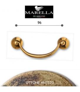 MANIGLIA 3092/96 OTTONE ANTICO