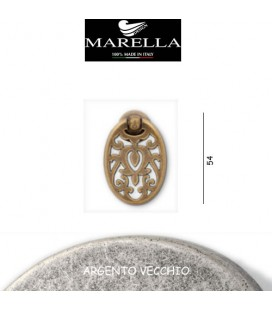 MANIGLIA 3158/54 ARGENTO VECCHIO