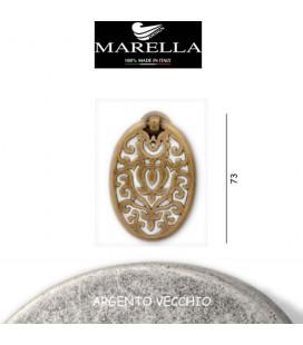 MANIGLIA 3158/73 ARGENTO VECCHIO
