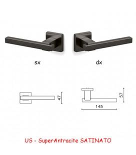 1/2 MANIGLIA BIOS SuperAntracite SATINATO