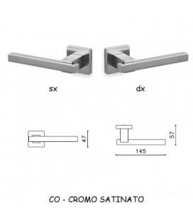 1/2 MANIGLIA BIOS CROMATO OPACO