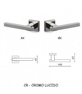 1/2 MANIGLIA BIOS CROMATO LUCIDO