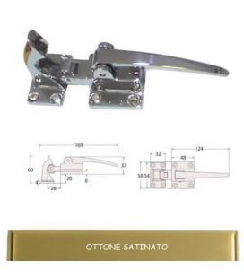 CHIUSURA GHIACCIAIA 991/2 OTTONE SATINATO