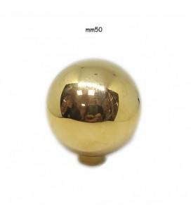 POMOLO SFERA 50 OTTONE LUCIDO