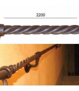 TRECCIA TUBOLARE SPOLETO 2200 FERRO VECCHIO