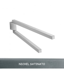 PORTA SALVIETTE A1920 NICHEL SATINATO